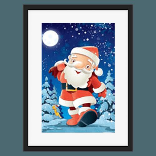 Marcin Polundiak Lighheart Santa Claus Illustrations bringing to life the imagination of a child